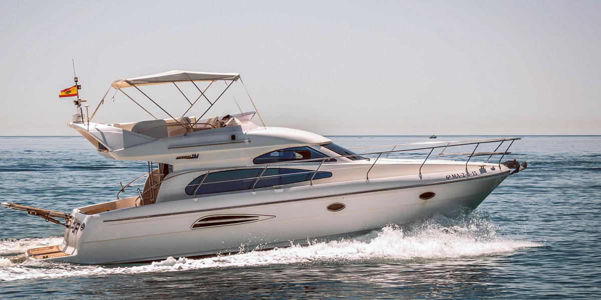 Astondoa 40 Motor Boat Charters from Puerto Banus