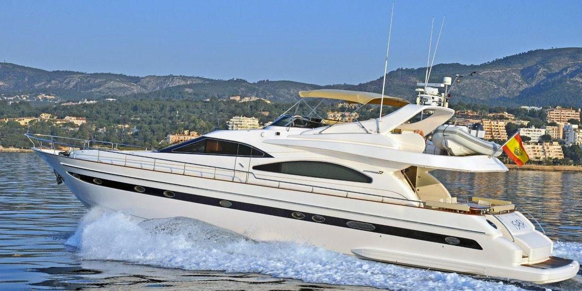 Astondoa 72 Motor Yacht Charter Puerto Banus, Marbella
