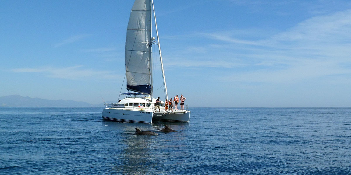 Lagoon 380 Catamaran Sailing Charters from Estepona