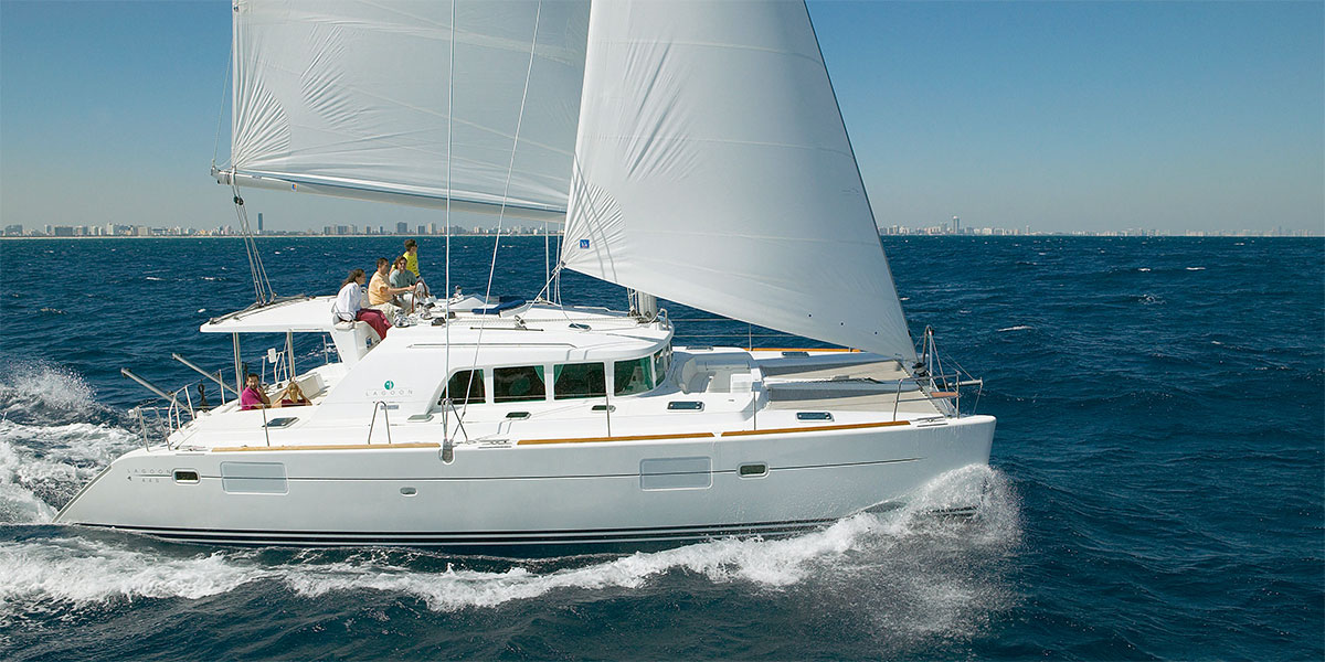 Lagoon 440 Catamaran Sailing Charter Puerto Banus – Marbella