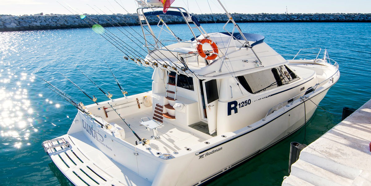 Rodman 1250R Motor Boat Trips from Puerto Banus