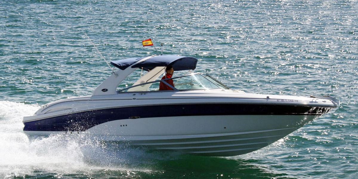 Sea Ray 295 Bow Rider Motor Boat Charters from Puerto Banus
