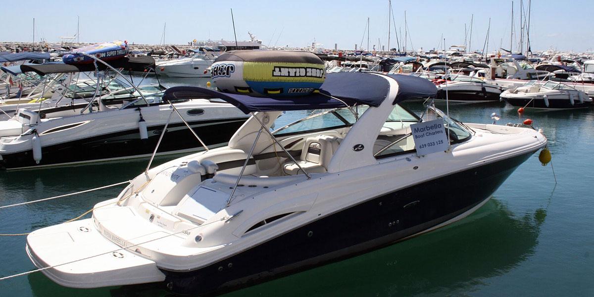 Sea Ray 295 SLX Motor Boat Charters from Puerto Banus