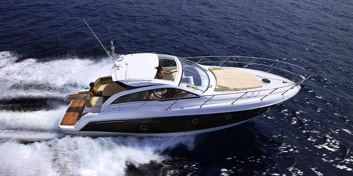 Motor Boat Charters in Puerto Banus – Sessa Marine C35 Sports Coupé
