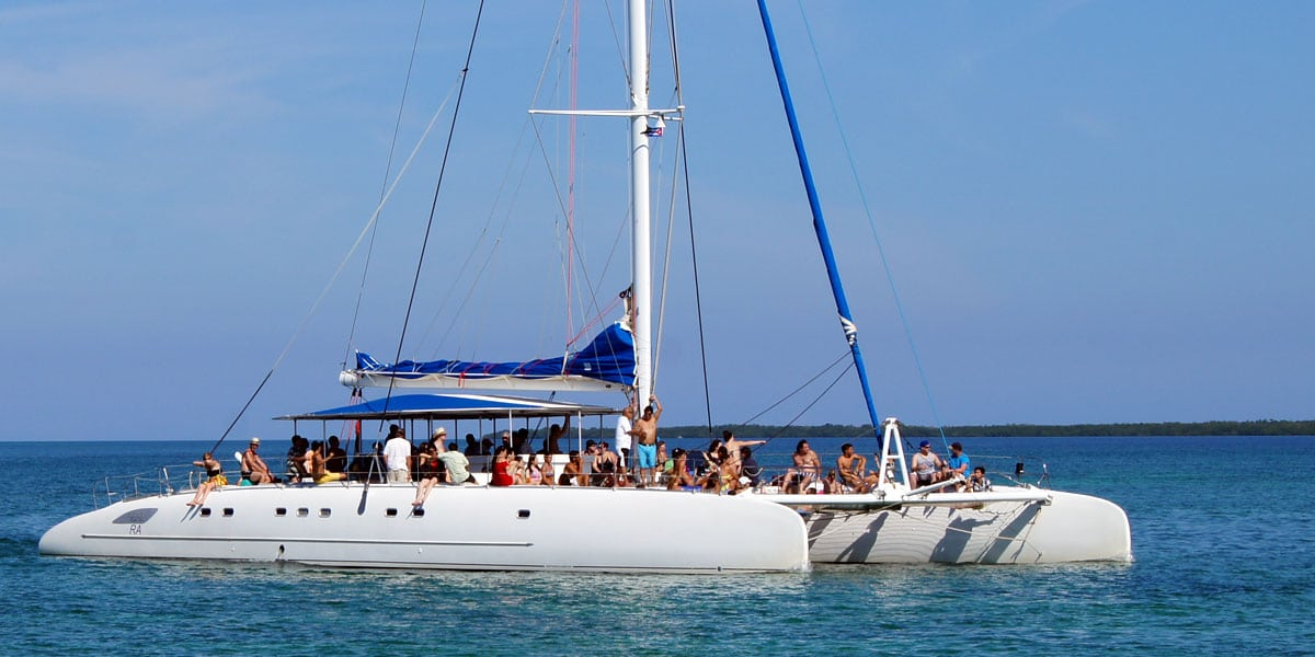 Taiti Catamaran Private Charter Puerto Banus and Marbella